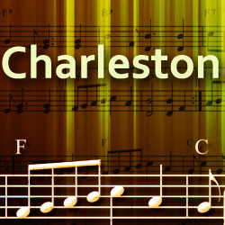 Illustration du style Charleston